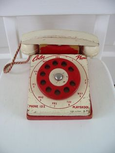 old old Playskool phone