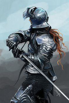 Female Warrior, Sara Campolo on ArtStation at https://www.artstation.com/artwork/2QLEv