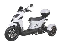 Shark 50cc Trike, 3-Wheel Scooter Trike Scooter, 3 Wheel Scooter, Scooter Shop, Street Bikes, Road Bikes, Mopeds For Sale, Classic Vespa, Motorcycle Store, 3rd Wheel