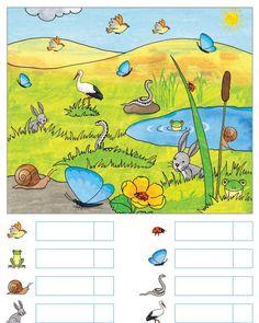Water Day, Daycare Crafts, Spring Theme, Preschool Worksheets, Kindergarten, Scenery, Language, Education, Children