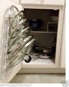 NEW Kitchen Storage Cabinet Pot Lid Rack Cover Holder Organizer Pantry Cupboard Pantry Door Storage, Pantry Cupboard, Kitchen Cabinet Organization, Kitchen Cabinet Doors, Kitchen Redo, New Kitchen, Kitchen Storage, Kitchen Cabinets, Kitchen Ideas