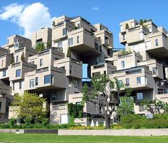 Habitat 67 Montreal, Canada