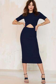 Nasty Gal Georgia Ribbed Maxi Dress - Clothes | Midi + Maxi | Dresses