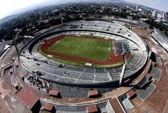 Estadio Olímpico Universitario   Augusto Pérez   1968