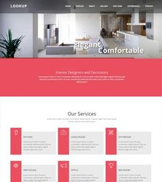 Best multipurpose Free Bootstrap web template. #InteriorDesign #HTML5 #webdesign #webthemez