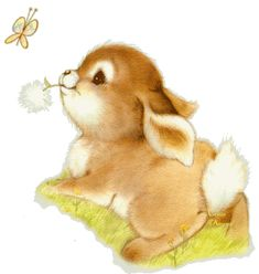- Klik for at se i normal størrelse Cute Images, Cute Pictures, Lapin Art, Baby Animals, Cute Animals, Illustration Mignonne, Art Mignon, Cute Animal Illustration, Easter Pictures