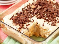 This dessert�s distinct coffee flavor and rum flavored base will make it a sure hit with the grown ups!