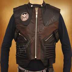 The Avengers Hawkeye Demiurgic Leather Vest