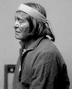 Chiricahua Apache man, Loco, Head Chief. Photographed San Carlos Reservation, Arizona, 1886.