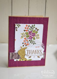 Stampin up Artisan Blog Hop- Into the Woods | Mercedes Weber @ My Paper Paradise