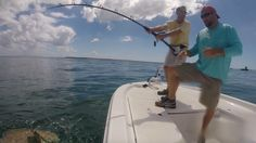 What a work out!  Alan hooked on his monster #goliathgrouper he caught while fishing with us in #bocagrande