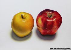 illustration airbrush colored pencils