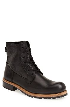 Andrew Marc 'Bayside' Plain Toe Boot (Men) available at #Nordstrom