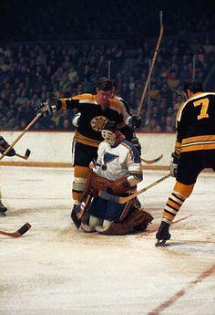 1970-Stanley Cup - Watching St Louis Goalie Gloving The Puck.jpg