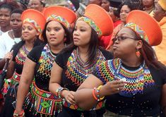 Posts about zulu traditional attire on Blushing Makoti Zulu Traditional Attire, Zulu Traditional Wedding, African Traditional Wedding, Traditional Dresses, Xhosa Attire, African Attire, African Dress, African Beauty, African Women