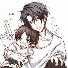 Eren e Levi