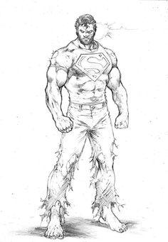 Comic Book Artists, Comic Books Art, Comic Art, Fantasy Art Men, Mundo Comic, Batman Vs Superman, Clark Kent, Comics Universe, Monster