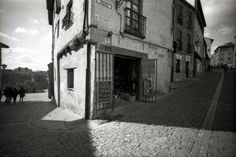 Salamanca wide, black and white. by @vgzalez on @Lomography