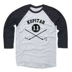 Anze Kopitar Sticks K Los Angeles Officially Licensed NHLPA Baseball T-Shirt Unisex S-3XL