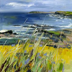 Judith Bridgland-Harebells on the Causeway Coast