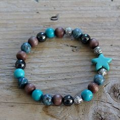 Faith for women, Turquoise, Star mixed.