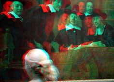 https://flic.kr/p/wVv69v | Wie is dat nu weer?  Who is that? | Rijksmuseum Amsterdam 3d anaglyph stereo