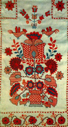 ukrainian style - rushnyk( Ukrainian embroidered towel)