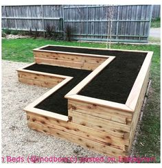 Raised Garden Bed Plans, Building A Raised Garden, Building Garden Boxes, Garden Box Plans, Cheap Raised Garden Beds, Box Garden, Shade Garden, Raised Flower Beds, Raised Beds