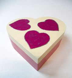 Caja corazón.