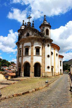 Igreja Nossa Senhora do Rosario, Ouro Preto, Minas Gerais