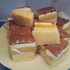 Ciasto cytrynowe z kremem budyniowym    #ciasto #cytrynowe #cytryna #krem #creame #cookie
