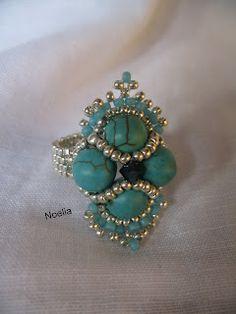 Jobs Noelia with Beads Diy Beaded Rings, Beaded Earrings, Beaded Bracelets, Jewelry Crafts, Jewelry Art, Jewelry Rings, Handmade Jewelry, Jewelry Ideas, Beaded Jewelry Patterns