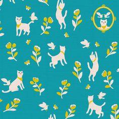 print & pattern: FABRICS - Cotorienne