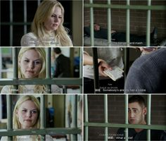 """""""You had the water and pop tart."""" Emma and Will Scarlet - 4 * 5 """"Breaking Glass"""""""