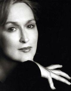 Meryl Streep 1998 by Herb Ritts.