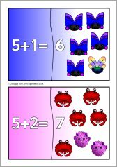Addition mini jigsaws (totals to - SparkleBox Early Years Maths, Mini, Early Math
