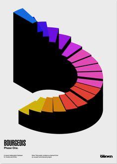 typographic poster « Sunshine+Design
