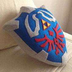 The Legend of Zelda Hylian Shield Pillow