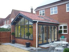 R&R Developments - General Builders 1930s House Extension, Conservatory Extension, Conservatory Kitchen, House Extension Plans, Conservatory Design, House Extension Design, Extension Designs, Conservatory Interiors, Rear Extension
