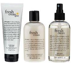Indulge in philosophy fresh cream head to toe trio! #QVCbeauty