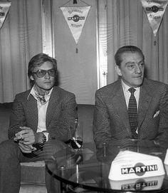 Luchino Visconti and his husband