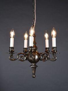 Cast bronze Chandelier dates from circa1890 Art Deco Lighting, Antique Lighting, Branch Chandelier, Rococo, Luster, Dates, Art Nouveau, Sconces, Restoration