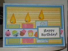 Birthday Card by joni710 - Cards and Paper Crafts at Splitcoaststampers