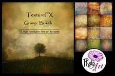 "TextureFX: Grunge Bokeh (12""sq) by PhotoArtFX on @creativemarket"