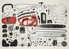 """cjwho: """" Things Come Apart - A Teardown Manual for Modern Living by Todd McLellan """"Things Come Apart is an expansion of the original Disassembly Series. This new set of images explores retro to modern daily items that have, are, or will be in our. Object Photography, Still Life Photography, Take Apart, Pull Apart, Things Organized Neatly, Coming Apart, Creative Journal, Mechanical Design, Ideas"""