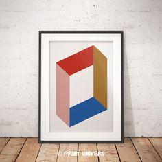 Ich freue mich, den jüngsten Neuzugang in meinem #etsy-Shop vorzustellen: Printable Art, Minimal Geometric Wall Art, Modern Design, Abstract Art, Graphic Poster, Home Decoration, Instant Digital Download http://etsy.me/2HmQ7qe #haushaltswaren #weiss #blau #geometricwal