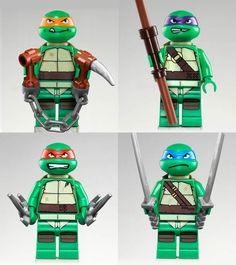 LEGO TMNT.