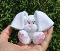 Baby Washcloth Bunny Instructional Video | Sewing Pattern | YouCanMakeThis.com