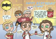 "@cyrilliart: ""I call this one ""Liam's Revenge"" ✨ Happy Birthday, Payno !"""