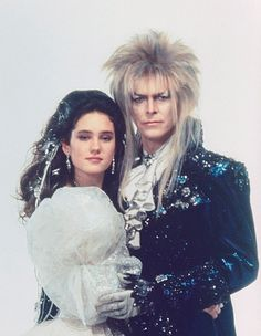 Jennifer Connelly, David Bowie - Labyrinth
